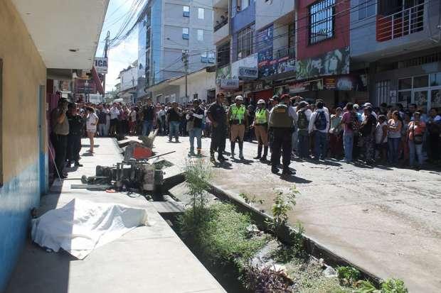 Explosión en peluquería dejó a una trabajadora muerta ya — Tarapoto