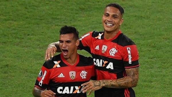 Miguel Trauco salvó de la derrota al Flamengo ante Fluminense