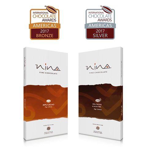 Chocolate Nina de Chazuta gana Premio Internacional de Calidad