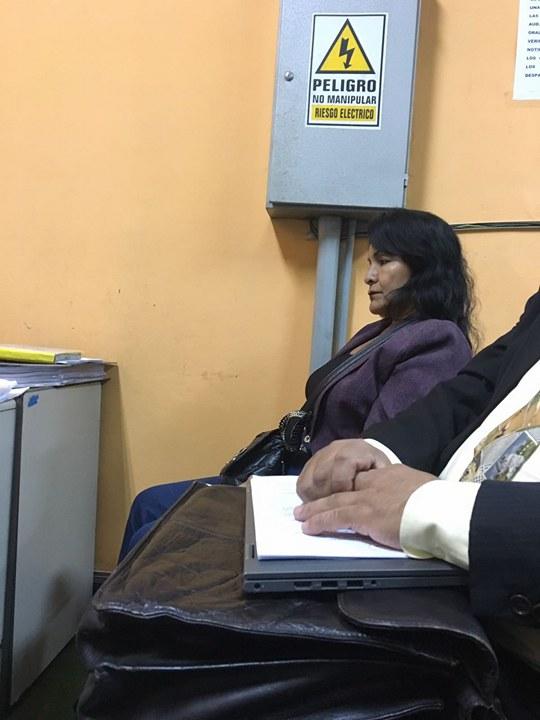 Aurelio Pastor entabla juicio  a Corina de la Cruz