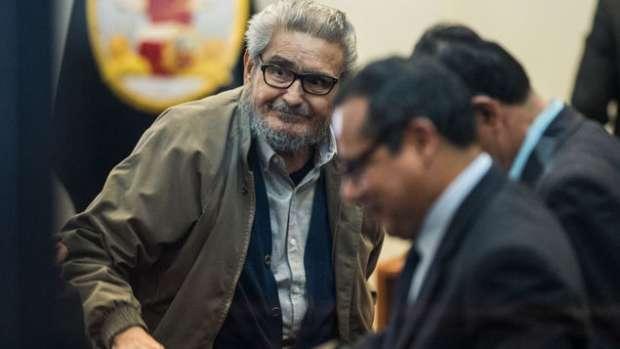 Abimael Guzmán fue obligado a  abandonar audiencia por Caso Tarata