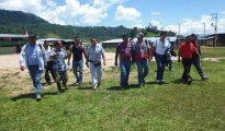 Reunión multisectorial en caserío de Nuevo Chimbote