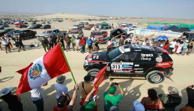 Lima levanta la bandera a cuadros del Rally Dakar 2018