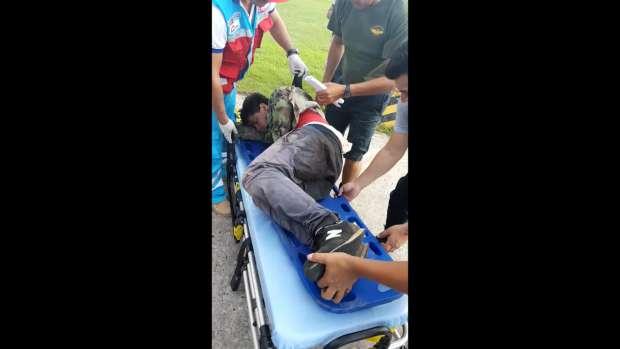 Cuatro policías antidrogas resultan heridos durante emboscada