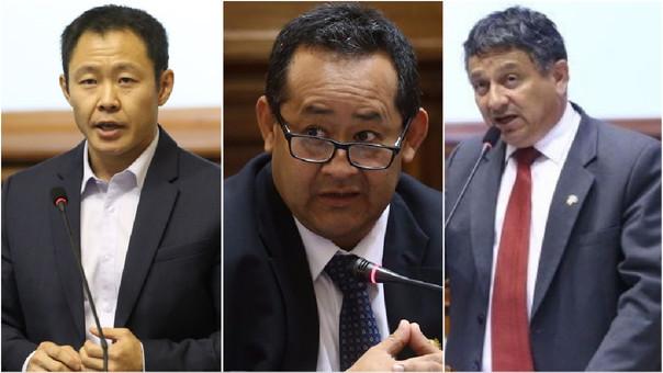 Informe recomienda destituir a Kenji Fujimori y otros dos congresistas