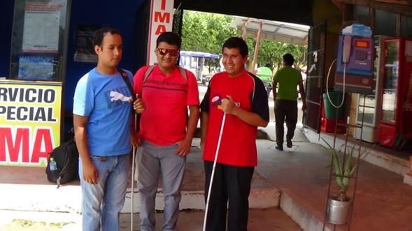 Invidentes de San Martín viajaron a Piura