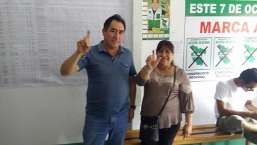 Gilmer Hurtado Flores es el  candidato para la alcaldía de Juanjuí