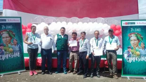 MINAGRI celebra Día del Campesino premiando a exitosos productores agrícolas de San Martín