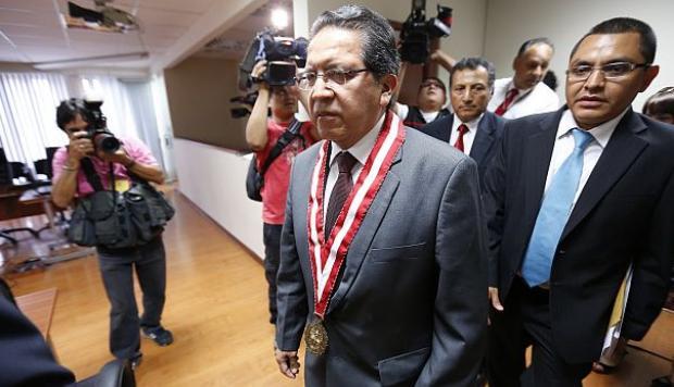 Saliente fiscal Pablo Sánchez