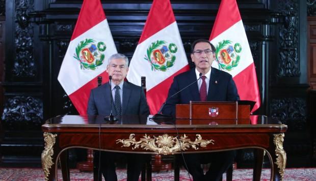 Presidente de Perú convoca al Congreso para destituir Consejo de la Magistratura