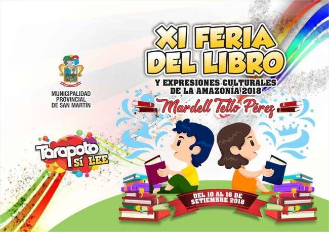 Feria del Libro y Expresiones Culturales se inició ayer en Tarapoto