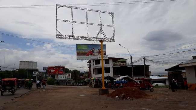 Realizan inspección ocular a paneles publicitarios instalados en Morales