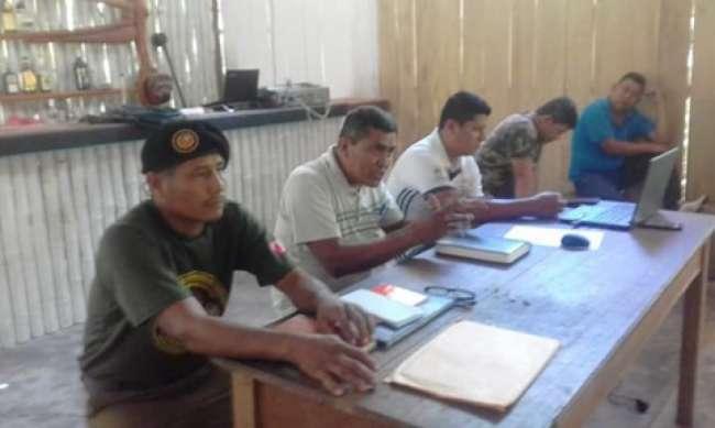 Asumen compromiso de trabajar por la seguridad ciudadana de Huicungo