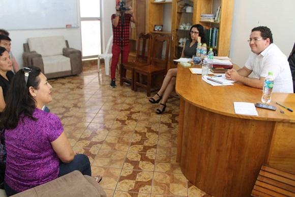 Alcalde de Juanjui se reunió con funcionarios de DIRCETUR