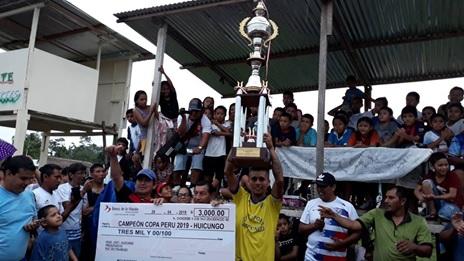 """Sport  Huicungo es el campeón de la Copa Perú"""" 2019"""