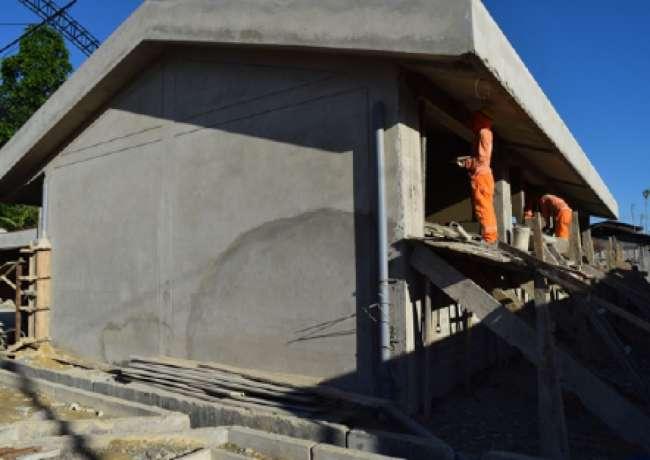 Institución Educativa Primaria N° 00860 en Playa Hermosa presenta avance del 65%
