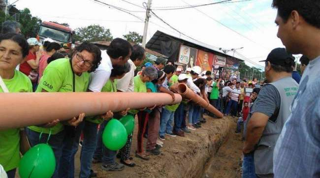 Proyecto de saneamiento de Moyobamba se reiniciaría en setiembre