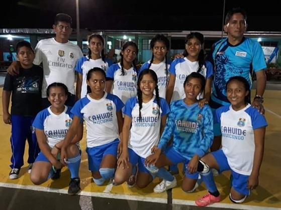 Campeoncitas de Huicungo  representarán a Mariscal Cáceres