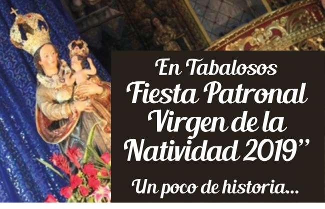 EL DIVÁN – Fiesta Patronal  Virgen de la  Natividad 2019