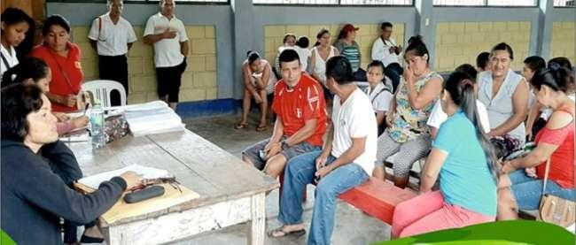 Huicungo ocupa el primer lugar en cumplimiento de metas de  focalización de hogares