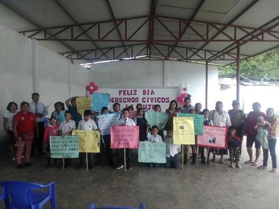 Huicungo celebró el Día de los Derechos Cívicos de la Mujer y el Día de la Familia
