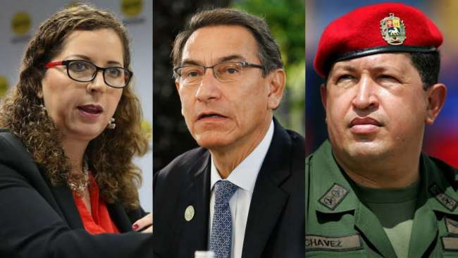 """Expresidente de Venezuela Hugo Chávez se ha reencarnado en Martín Vizcarra"""