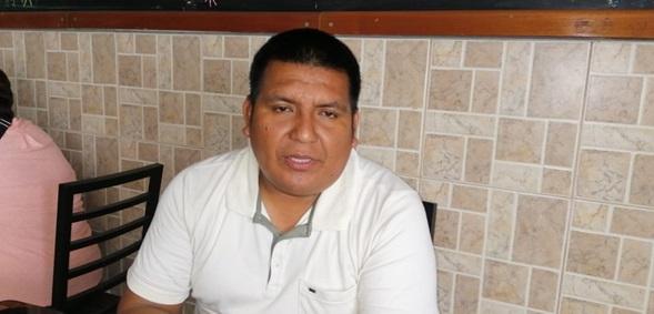 Muller Huancas confía en respaldo de ser elegido congresista