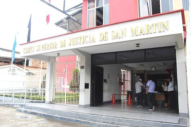 Municipalidad de Moyobamba donó terreno a Corte Superior de Justicia