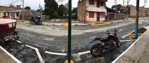 Supervisan obra de asfalto del Jirón Cajamarca - Diario Voces