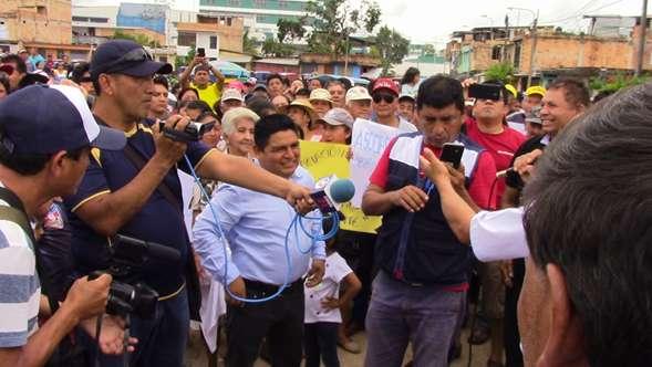 Población acordó dar 10 días de plazo para que OTASS deje EPS Moyobamba