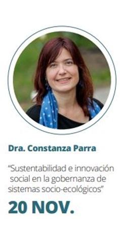 Constanza Parra se presenta en Congreso Científico Internacional Amazonía Sostenible