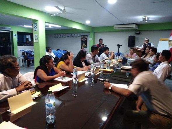 Regidores de MDNC suspendieron al alcalde Gonzalo Vásquez Tan