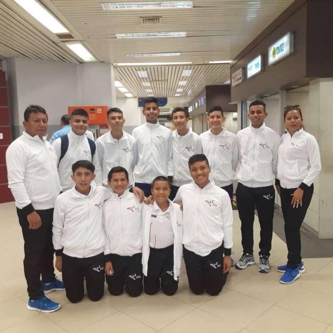 "Felicitan a ""JP"" subcampeón  Sudamericano Escolar Paraguay 2019"
