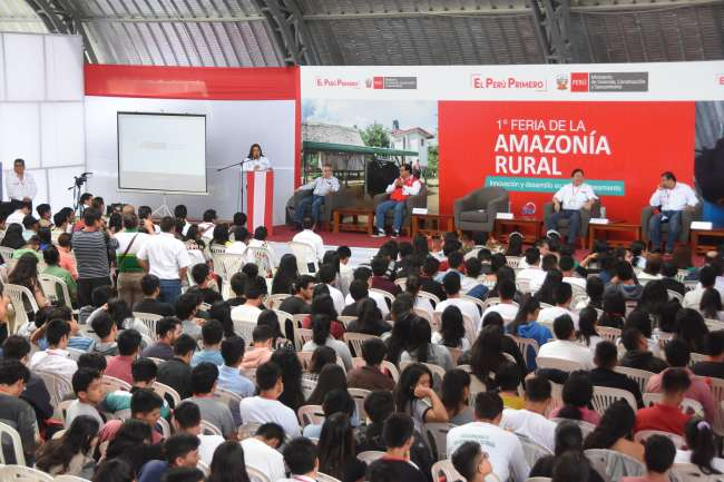 GORESAM participó en I Feria de innovación y Desarrollo en Agua y Saneamiento