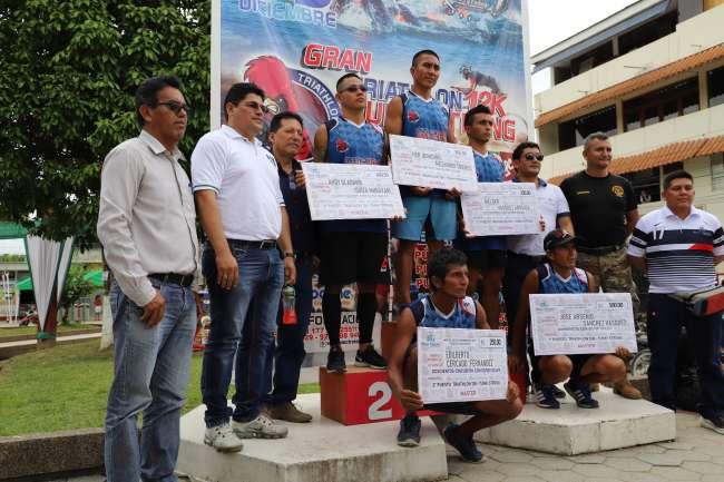 Electro Tocache organizó Triathlon 12 K