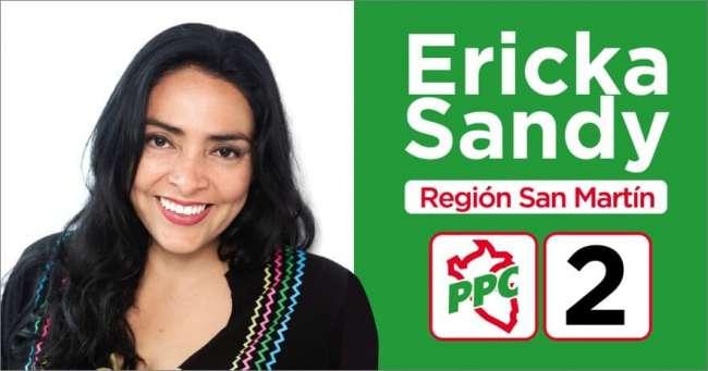 Candidata Ericka Sandy Salazar nos da a conocer sus propuestas