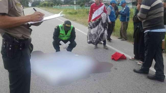 Motociclista murió tras ser atropellado por conductor que se dio a la fuga