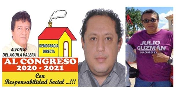 Cinco candidatos al Congreso por la región San Martín tienen sentencias civiles