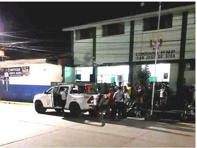 San José de Sisa: Gestante muere  víctima de accidente de tránsito