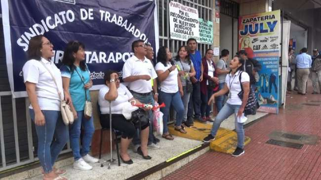 Huelga de trabajadores del RENIEC fue suspendida a nivel nacional
