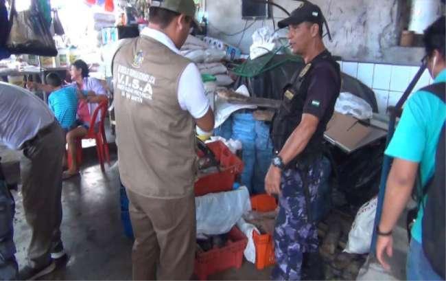 Barrio Comercio: Incautan más de 100 kilos de pescado en mal estado