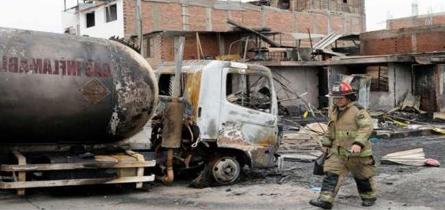 Ministra de Salud informa que son 15 los fallecidos tras  deflagración en Villa El Salvador