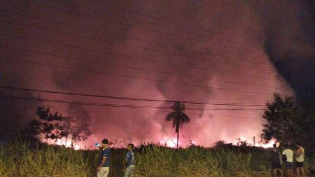 Incendios forestales se registraron  durante el fin de semana en la región