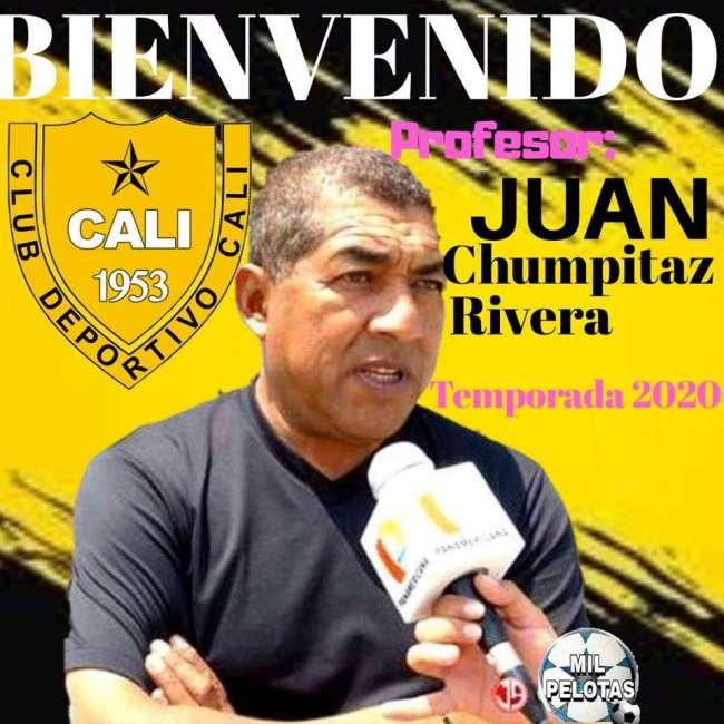 """Juan """"El Profe"""" Chumpitaz será en técnico del Deportivo Cali"""