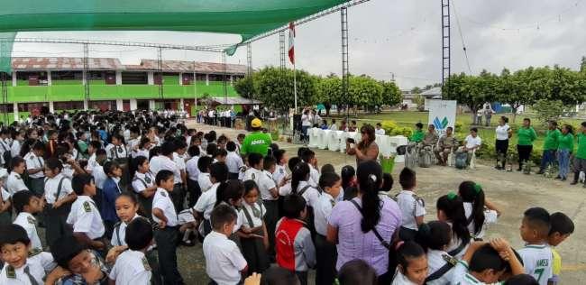 Capacitan a 38685 estudiantes en temas de educación ambiental
