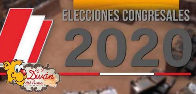 EL DIVÁN – De candidatos y promesas: Elecciones Congresales Complementarias 2020