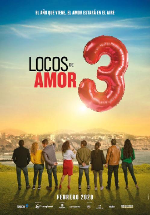 """Este jueves 13 es  el estreno de la esperada secuela """"Locos de Amor 3"""""""