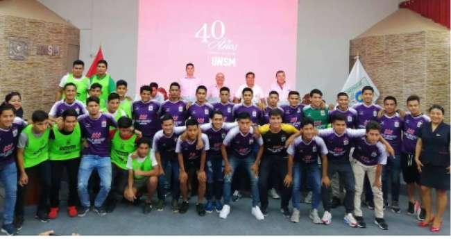 UNSM presenta plantel 2020 para jugar en la Liga de Tarapoto