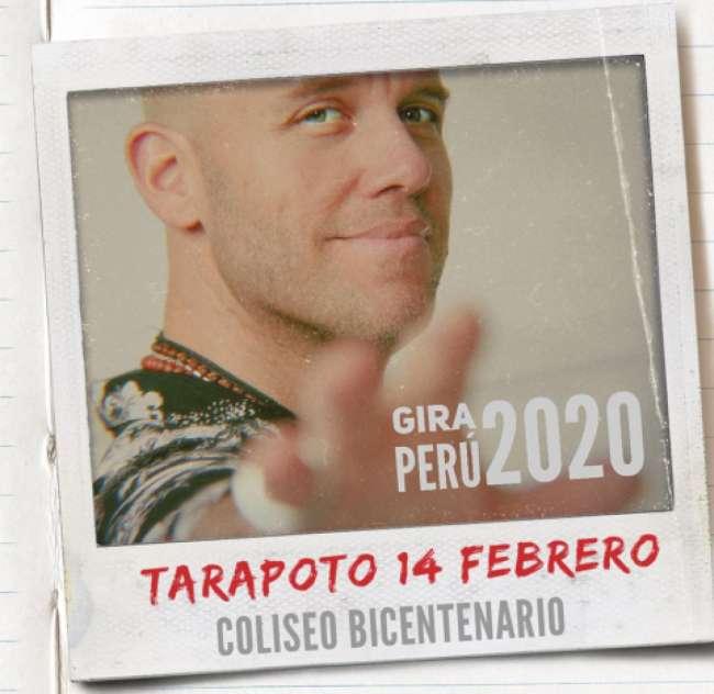 Gianmarco inicia gira nacional este 14 de febrero en Tarapoto