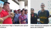 36 meses de prisión preventiva contra Juan Sotomayor y  Victor Albrecht